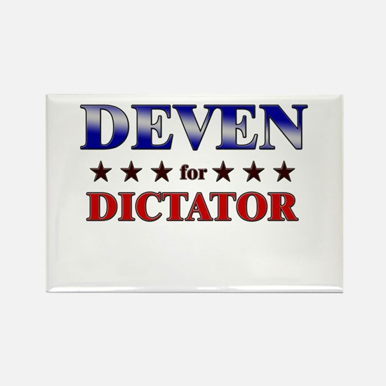DEVEN for dictator Rectangle Magnet