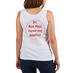 Ron Paul cure-3 Women's Tank Top