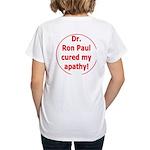 Ron Paul cure-3 Women's V-Neck T-Shirt