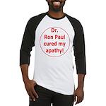 Ron Paul cure-3 Baseball Jersey