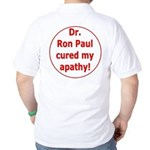 Ron Paul cure-3 Golf Shirt