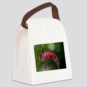 Natures Floral Pearls Canvas Lunch Bag