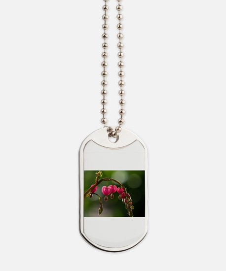 Natures Floral Pearls Dog Tags