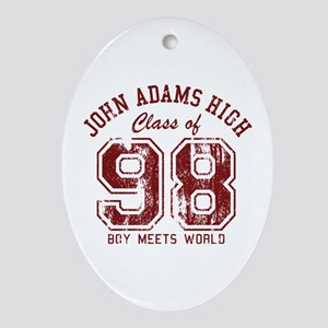 John Adams High 98 Oval Ornament