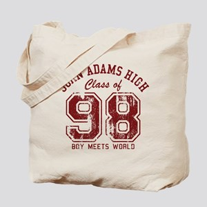 John Adams High 98 Tote Bag