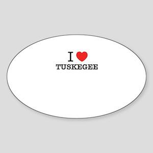 I Love TUSKEGEE Sticker