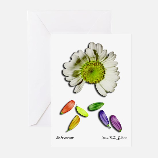 He Loves Me Greeting Cards (Pk of 10)