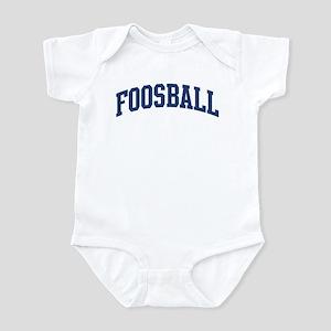 Foosball (blue curve) Infant Bodysuit