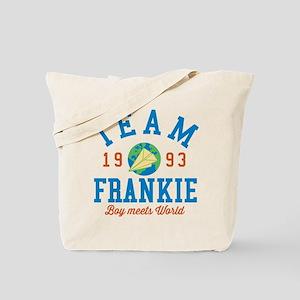 Team Frankie Boy Meets World Tote Bag