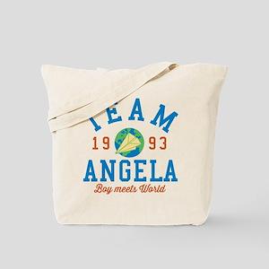 Team Angela Boy Meets World Tote Bag