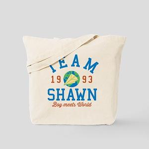 Team Shawn Boy Meets World Tote Bag