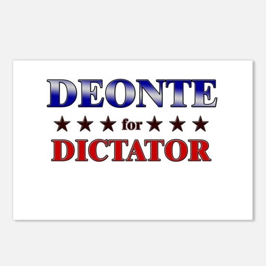 DEONTE for dictator Postcards (Package of 8)