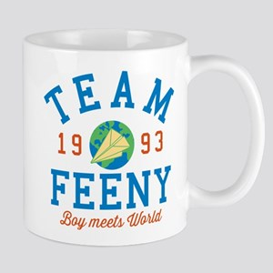 Team Feeny Boy Meets World Mugs