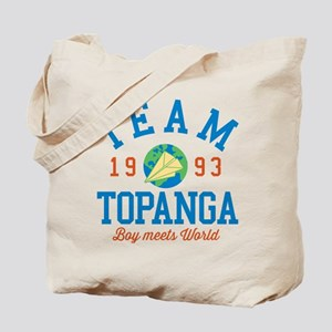 Team Topanga Boy Meets World Tote Bag