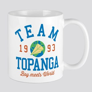 Team Topanga Boy Meets World Mugs