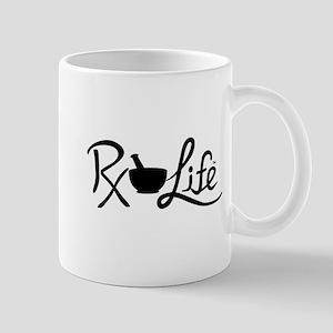 Black Rx Life Mug