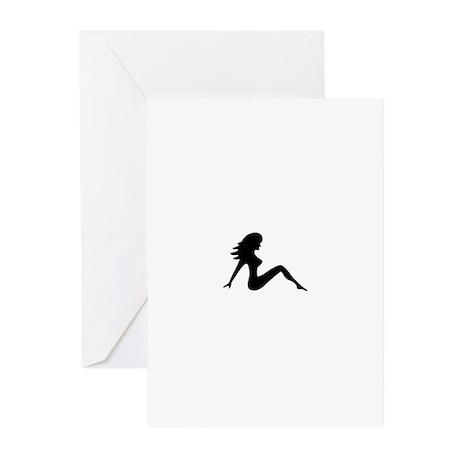 Trucker Girl VI Greeting Cards (Pk of 10)