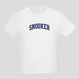 Snooker (blue curve) Kids Light T-Shirt