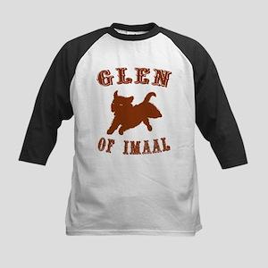 Glen of Imaal Terrier Kids Baseball Jersey
