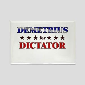 DEMETRIUS for dictator Rectangle Magnet