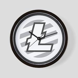 Litecoin / LTC Logo Wall Clock