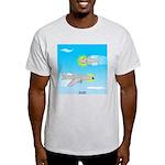 Plane and Shark Light T-Shirt