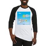 Plane and Shark Baseball Jersey