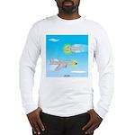 Plane and Shark Long Sleeve T-Shirt