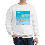 Plane and Shark Sweatshirt