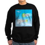 Plane and Shark Sweatshirt (dark)