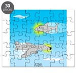 Plane and Shark Puzzle