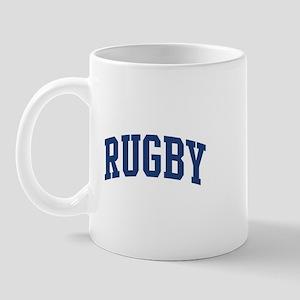 Rugby (blue curve) Mug