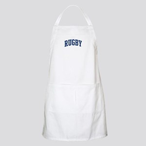 Rugby (blue curve) BBQ Apron