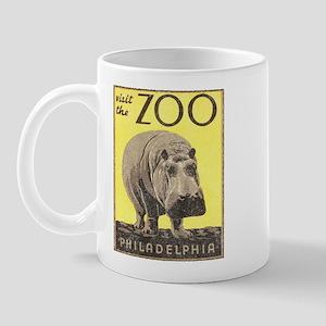 Vintage Philadelphia Zoo Mug