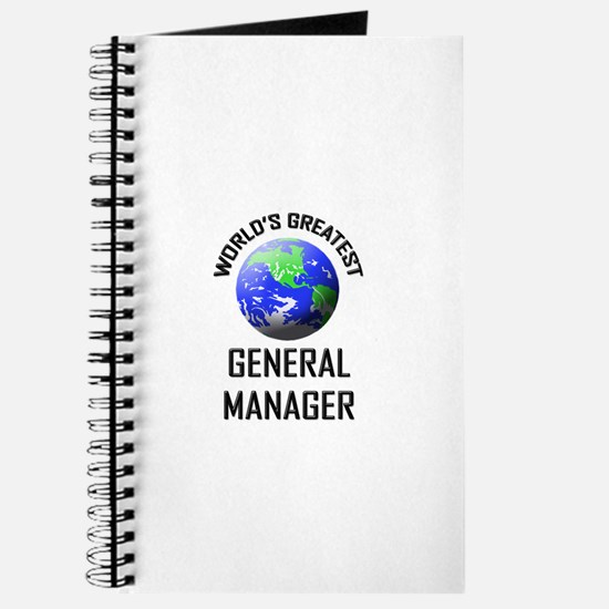 World's Greatest GENERAL MANAGER Journal