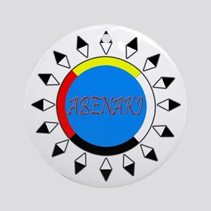 Abenaki Ornament (Round)