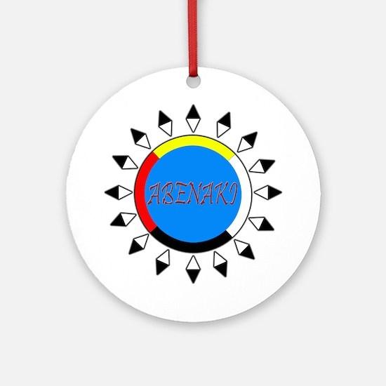 Abenaki Ornament (Round)