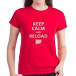 Women's Keep Calm And Reload T-Shirt