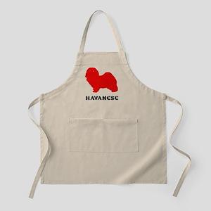 Havanese BBQ Apron