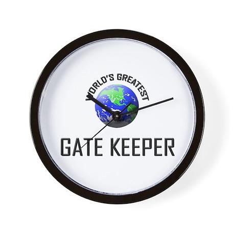 World's Greatest GATE KEEPER Wall Clock