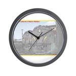 The Pennsy Lives On ! Wall Clock