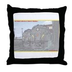 The Pennsy Lives On ! Throw Pillow