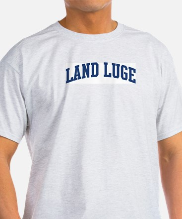 Land Luge (blue curve) T-Shirt