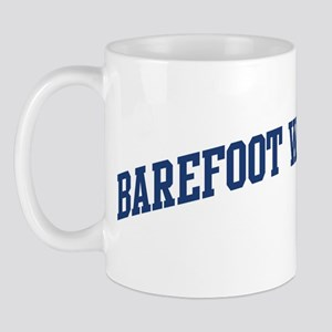 Barefoot Water Skiing (blue c Mug