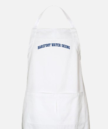 Barefoot Water Skiing (blue c BBQ Apron