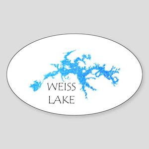 Weiss Lake Sticker