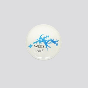 Weiss Lake Mini Button