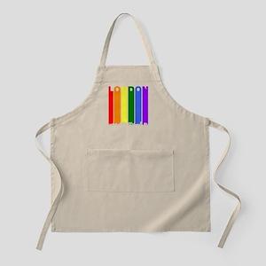 London Ontario Gay Pride Rainbow Skyline Apron