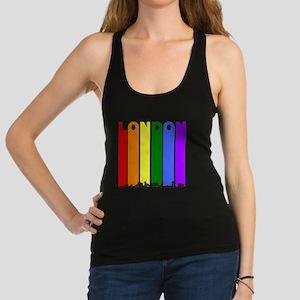 London Ontario Gay Pride Rainbow Skyline Racerback