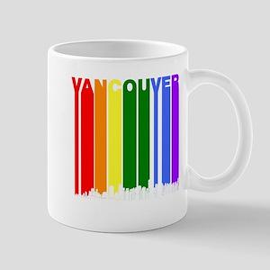 Vancouver British Columbia Gay Pride Rainbow Skyli